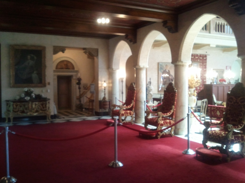 John Ringling's Foyer at his winter home in Sarasota FL - Ca'D'Zan
