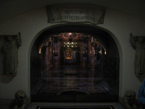 St. Peter's Tomb Entrance
